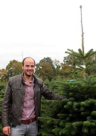 Christian Schwartz von Pflanzenhandel Schwartz in der Tannenbaumschonung